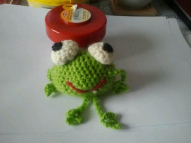 Red Eyed Tree Frog Crochet Pattern by CraftFrogPatterns on Etsy ... | 294x392