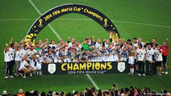 the World Cup 2014 Champions