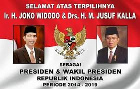 President dan wakil president Indonesia
