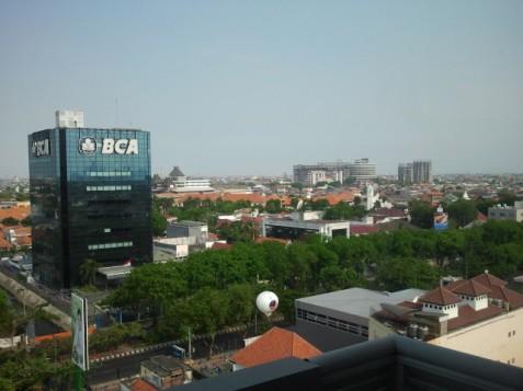 Surabaya from Hotel Santika